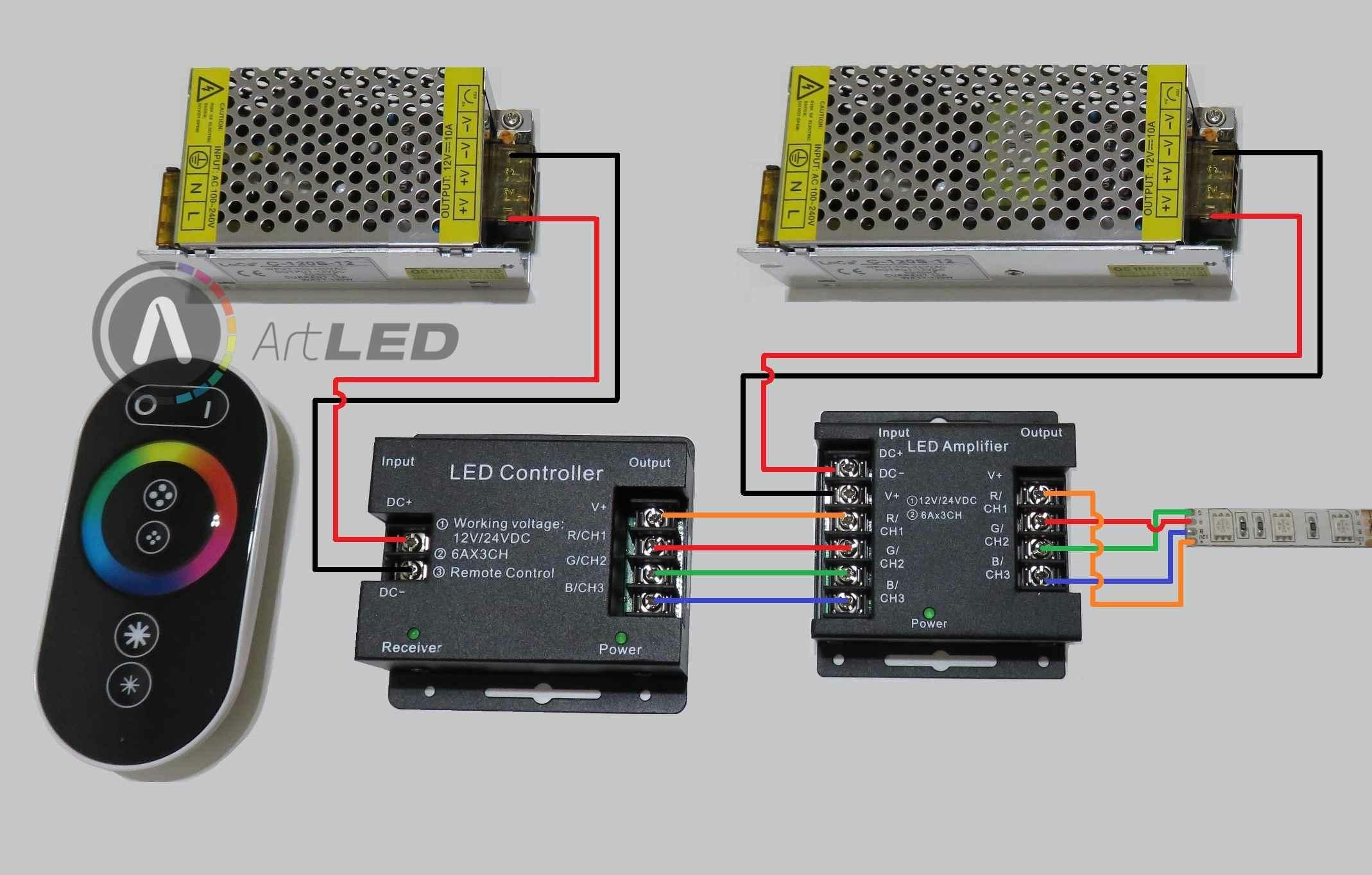 RGB LED szalag 2