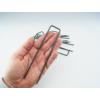Kép 2/3 - Nortene Műfű rögzítéséhez leszúrható fémkapocs (10 darab)