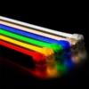 Kép 2/2 - LED flexibilis szalag, 80 SMD/m, 12x24mm, 230V, pink fény (ST4588) 1