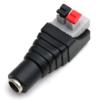 Kép 1/2 - LED DC sorkapocs átalakító, nyomógombos, 2.1x5.5 mm, ANYA (24377)