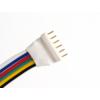 Kép 2/2 - LED Forrasztható 6 tüskés RGB+CW+WW csatlakozó, 15cm vezetékkel (AN22985) 1