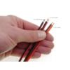 Kép 2/2 - LEDTech Vezeték LED szalaghoz, piros/fekete, 2x0.5 mm2 (AN6461) 1