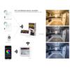 Kép 2/3 - Group Control CCT Fali LED színhőmérséklet szabályzó panel, B2, elemes (16369) 1