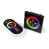Kép 1/2 - RGB LED vezérlő távirányítóval (QC80), 144W (14877)