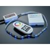 Kép 2/3 - Group Control RGBW csoport (zóna) távirányító RGB+fehér LED szalaghoz, fekete (8088) 1