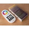 Kép 3/3 - Group Control RGBW csoport (zóna) távirányító RGB+fehér LED szalaghoz, fekete (8088) 2