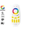 Kép 1/3 - Group Control RGBW csoport (zóna) távirányító RGB+fehér LED szalaghoz, sárga (7850)