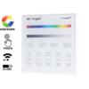 Kép 1/3 - Group Control RGBW Fali RGB+fehér LED szalag távirányító panel, B3: elemes (16370)