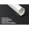 Kép 3/3 - LED Profiles ALP-006 Aluminium sarok profil ezüst, LED szalaghoz, opál burával (6882) 2