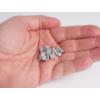 Kép 2/2 - RS - MINI-01-A Alumínium U profilhoz végzáró elem furattal, műanyag, szürke (13719) 1