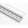 Kép 2/3 - RS - MINI-01-B - Alumínium RS profil (süllyeszthető) LED szalaghoz, átlátszó bura (11666) 1
