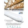 Kép 1/4 - F-Series por és páramentes LED lámpatest IP65 (48W) 150 cm, 4500K (13058)