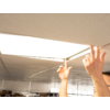 Kép 4/6 - LED panel (600 x 600mm) 45W - hideg fehér (9449) 3