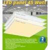Kép 1/6 - LED panel (600 x 600mm) 45W - meleg fehér (9605)