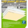 Kép 1/6 - LED panel (600 x 600mm) 45W - természetes fehér (9606)