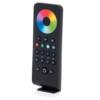 Kép 1/3 - LED SD RS-4 Touch RGB+W távirányító, érintős, fekete, 4 zónás (22579)