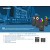 Kép 2/3 - LED SD RS-8 Touch RGB+W távirányító, érintős, fekete, 8 zónás (23110) 1