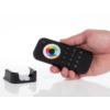 Kép 2/3 - LED SD RT-10 Touch FullColor RGB+CCT távirányító, érintős, fekete, 4 zónás (22585) 1
