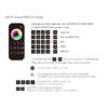 Kép 3/3 - LED SD RT-10 Touch FullColor RGB+CCT távirányító, érintős, fekete, 4 zónás (22585) 2
