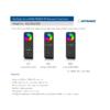 Kép 3/3 - LED SD RT-5 Touch FullColor RGB+CCT távirányító, érintős, fekete (22583) 2