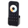 Kép 1/3 - LED SD RT-7 Touch Színhőmérséklet (CCT) távirányító, érintős, fekete, 4 zónás (22580)