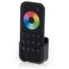 Kép 1/3 - LED SD RT-9 Touch RGB+W távirányító, érintős, fekete, 4 zónás (22581)