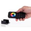 Kép 2/3 - LED SD RT-9 Touch RGB+W távirányító, érintős, fekete, 4 zónás (22581) 1