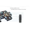 Kép 3/3 - LED SD RU-8 Fényerőszabályzó távirányító, nyomógombos, fekete, 8 zónás (23108) 2