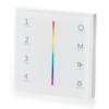 Kép 1/3 - LED SD T3-1W Fali LED RGB vezérlő, érintésérzékeny, fehér (22601)