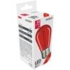 Kép 1/3 - Avide Dekor LED Filament fényforrás 0.6W E27 Piros