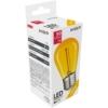 Kép 1/3 - Avide Dekor LED Filament fényforrás 0.6W E27 Sárga