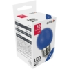 Kép 1/3 - Avide Dekor LED fényforrás G45 1W E27 Kék