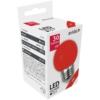 Kép 1/3 - Avide Dekor LED fényforrás G45 1W E27 Piros