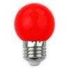Kép 2/3 - Avide Dekor LED fényforrás G45 1W E27 Piros