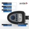 Kép 6/11 - Avide LED Asztali Lámpa Üzleti Bőrhatású Naptár Fekete 6W