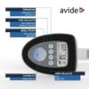 Kép 6/11 - Avide LED Asztali Lámpa Üzleti Bőrhatású Naptár Fehér 6W