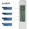 Kép 5/9 - Avide LED Asztali Lámpa Naptár Fehér 5W
