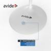 Kép 4/9 - Avide LED Asztali Lámpa Minimal Fehér 4W