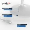 Kép 5/9 - Avide LED Asztali Lámpa Minimal Fehér 4W
