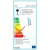 Kép 11/12 - Avide LED Asztali Lámpa Irodai Bőrhatású Naptár Barna 6W