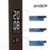 Kép 6/12 - Avide LED Asztali Lámpa Irodai Bőrhatású Naptár Barna 6W