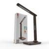 Kép 9/12 - Avide LED Asztali Lámpa Irodai Bőrhatású Naptár Barna 6W