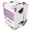 Kép 1/4 - Avide Basic E27 Asztali Lámpa C Talpú Fekete