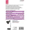 Kép 3/4 - Avide Basic E27 Asztali Lámpa O Talpú Fehér
