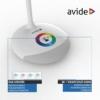 Kép 4/9 - Avide LED Asztali Lámpa RGB Fehér 4W