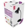 Kép 1/3 - Avide Basic E27 Asztali Lámpa Simple Fekete