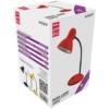 Kép 1/3 - Avide Basic E27 Asztali Lámpa Simple Piros