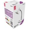 Kép 1/3 - Avide Basic E27 Asztali Lámpa Simple Fehér