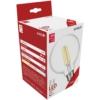 Kép 1/4 - Avide LED filament izzó Globe G95 8W E27 WW 2700K