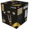Kép 1/4 - Avide LED Jumbo Filament Millau Amber 6W E27 2400K dimmelhető